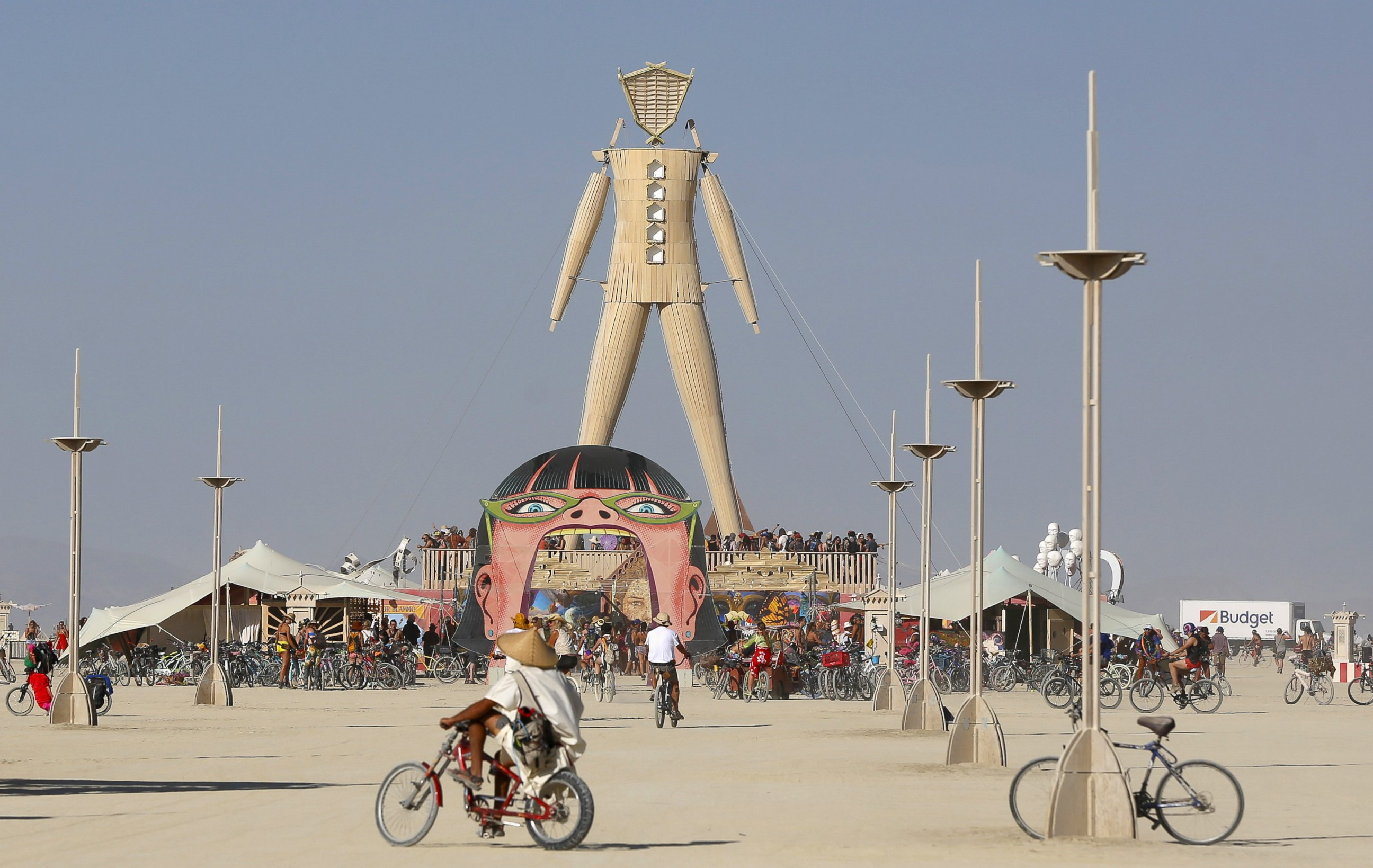 Фестиваль Burning Man, США, Невада